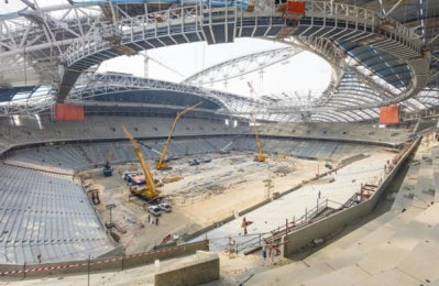 Scaffolding worker killed at Qatar World Cup project site