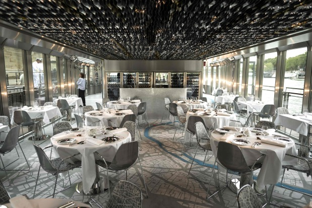 OMG: Boat cuisine: Superchef Ducasse takes to the water