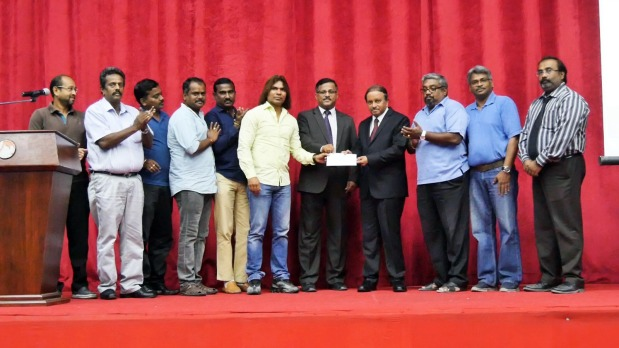 Photo Gallery:  BD1,300 collected for Kerala Flood Relief