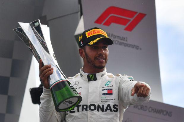 Italian Grand Prix: Hamilton wins as Vettel spins