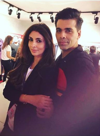 Bollywood: Photos: Family bonding on full display at Shweta Bachchan's fashion label launch