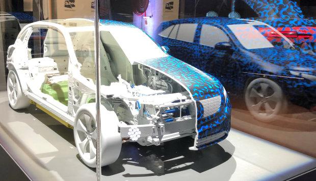 Motoring: Mercedes unveils electric car in direct German challenge to Tesla