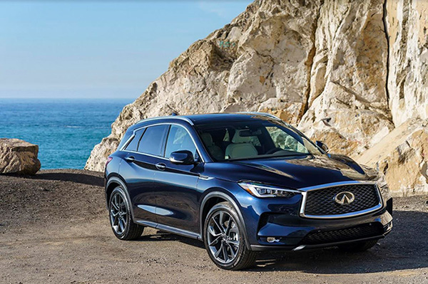 The all new INFINITI QX50 arrives in the Middle East