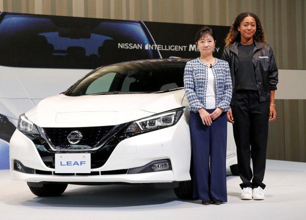 Game, set, match: Nissan signs rising tennis star Osaka as brand ambassador