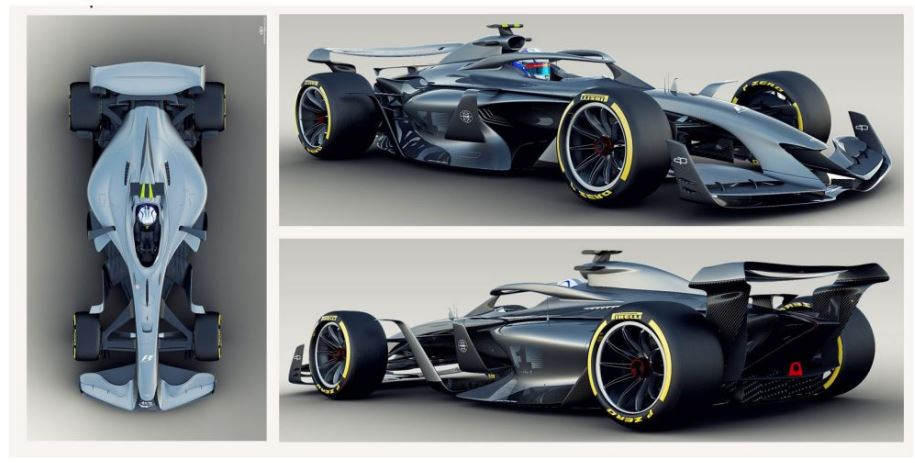 Hamilton likes car of the future