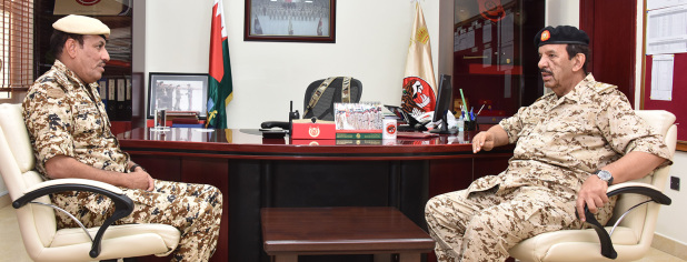 <p>BDF Commander-in-Chief Marshal Shaikh Khalifa bin Ahmed Al Khalifa yesterday inspected military units and was briefed about combat readiness, training programmes and armament. Marshal Shaikh Khalifa reviewed military plans and training programmes.</p>