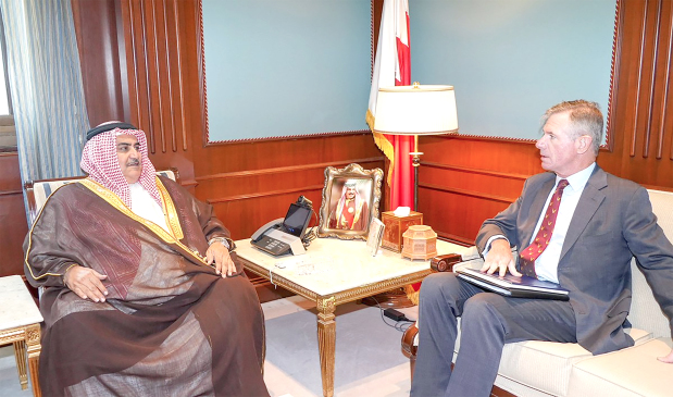 The Foreign Minister yesterday met International Institute for Strategic Studies (IISS) executive director and chief executive for the Middle East Sir Tom Beckett. They discussed preparations for the 2018 Manama Dialogue, which will be held next month.