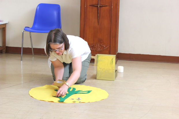 <p>A VISITING British children's expert has been leading a series of workshops for volunteers from St Christopher's Cathedral in Manama at the beginning of the new school year.</p><p>Diocese of Exeter children's world adviser Katherine Lyddon has been inspiring, encouraging and resourcing the cathedral's growing Friday Club team of volunteers.</p><p>Sessions have included subjects such as children and young people as key members of the church community, child development, different learning styles, providing a safe environment and exploring varieties of ways in which faith grows.</p><p>Ms Lyddon has trained as a primary teacher and, as well as working throughout the County of Devon in the UK in her present role, she has also taught in Uganda.</p><p>Tomorrow morning, she will be leading a session for mothers, Growing a family of faith.</p><p>Anyone interested in attending can call cathedral Dean Chris Butt on 39522547.</p><p>Above, Ms Lyddon demonstrates how to tell a story, building a picture with felt.</p>