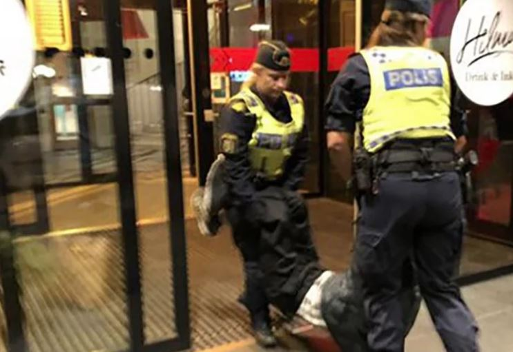 China complains to Sweden as tourists 'brutally' ejected from hotel