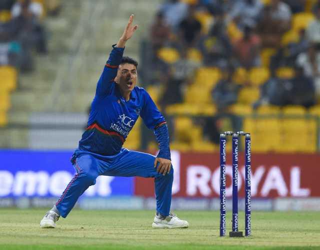 Afghans knock Sri Lankans out