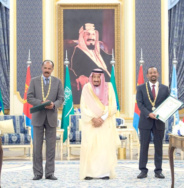 Eritrea-Ethiopia in new peace accord