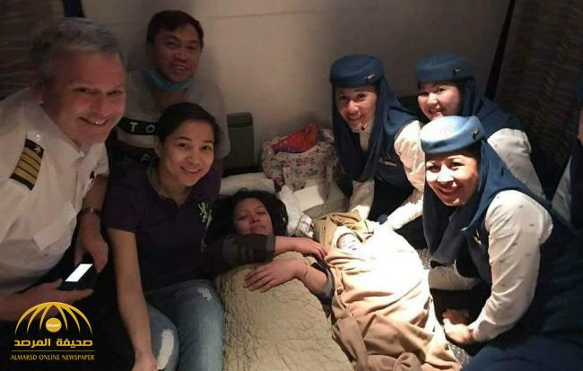 Woman gives birth mid-air on Saudi flight to Philippines