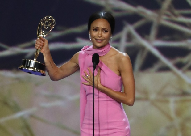 TV: Top Emmys moments: A proposal, the Fonz and... a diversity song?