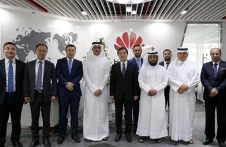 Huawei registered with 100pc ownership in Qatar