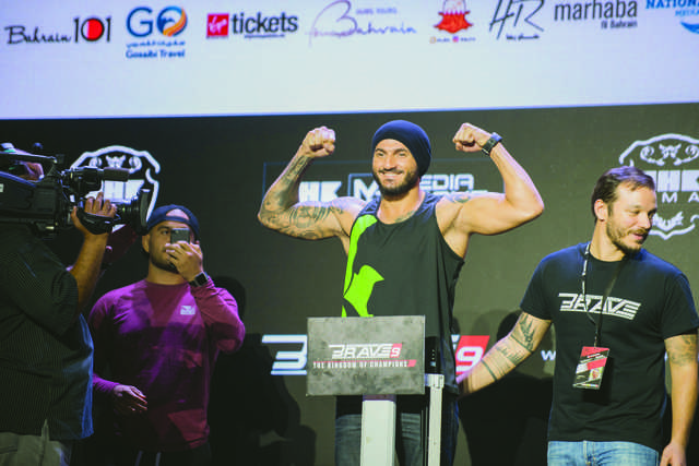 Brave set to host public weigh-ins