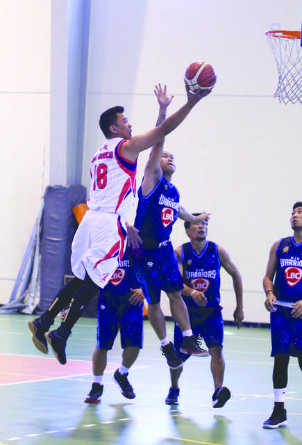 Sany rally to get better of Warriors