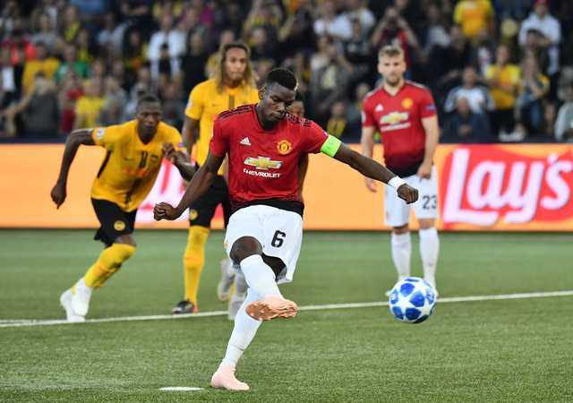 City fall to Lyon as Pogba double seals United win