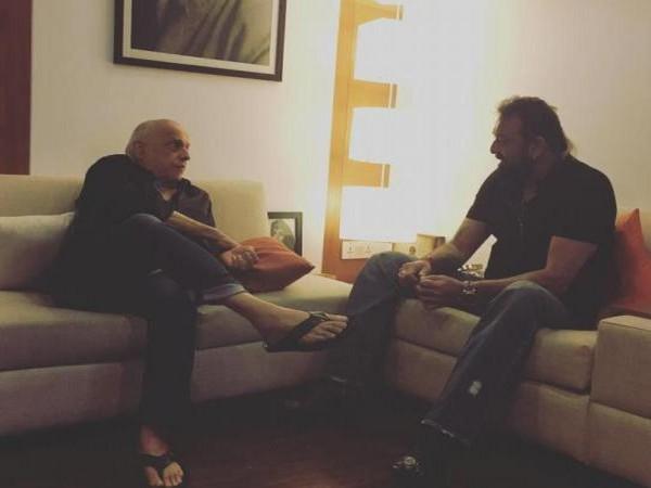 Sanjay Dutt thanks Mahesh Bhatt for 'Sadak'