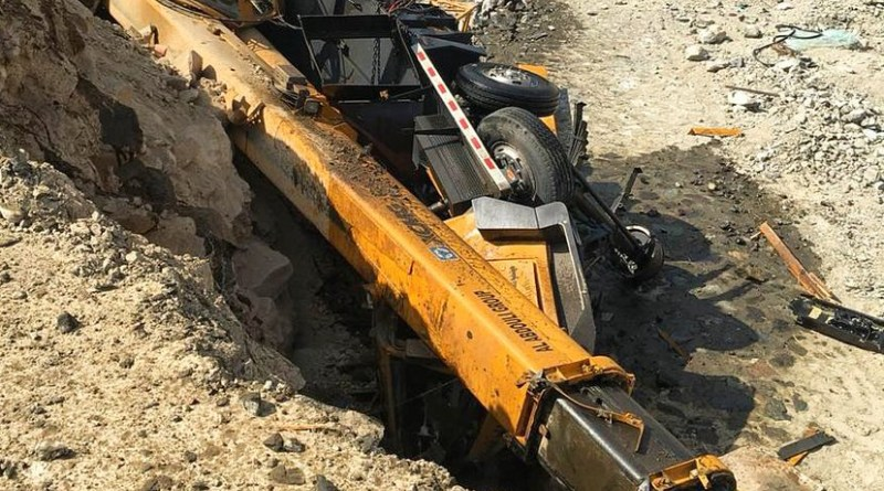 Asian operator killed as crane collapses