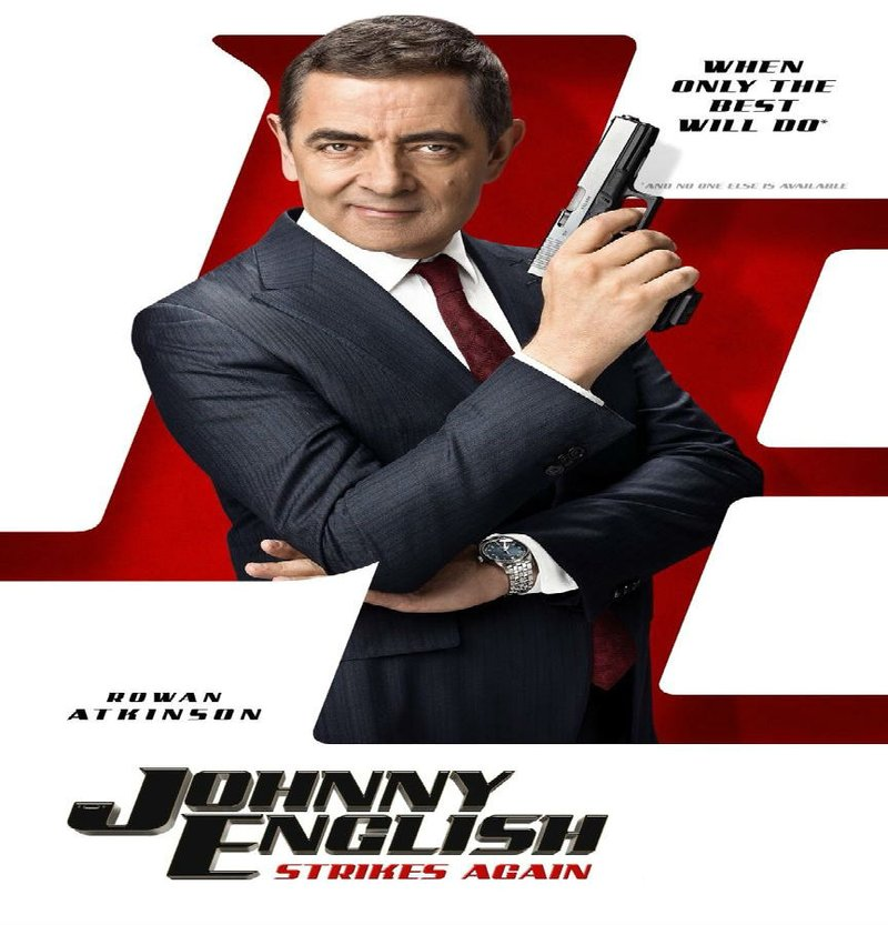 'Johnny English Strikes Again' rated PG12 in Saudi