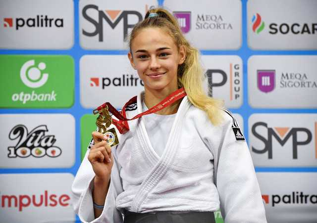 Bilodid makes judo history as youngest champion