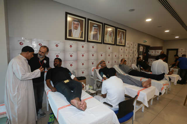 Hundreds join major blood donation drive