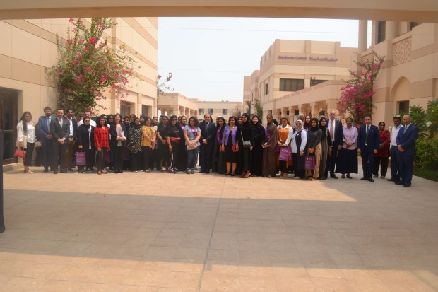 <p><em>New students at the orientation.</em></p> <p>An orientation programme was organised by the Royal University for Women's (RUW) student affairs office at its campus in West Riffa.</p> <div>RUW acting president Dr David Stewart welcomed the new students for the 2018-2019 academic year, highlighting the quality education offered by the university and its dedication to educate and empower women.</div> <div></div> <div>Student affairs director Sameeneh Shirazie also addressed the students and their families.</div> <div></div> <div>Students were then taken on a tour of the campus.</div>