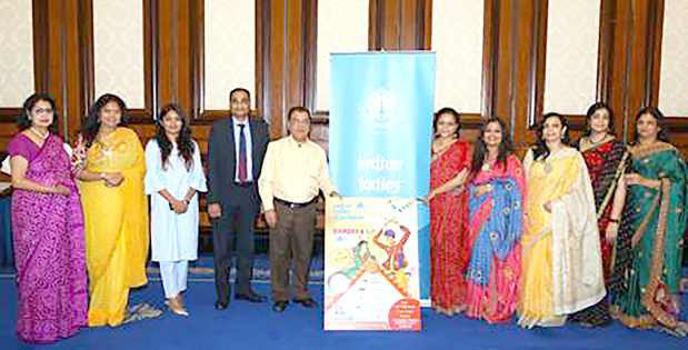 <p><em>ILA officials, sponsors and supporters at the poster launch</em></p>