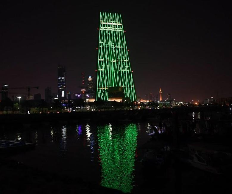 High-rise towers in Kuwait and Cairo mark Saudi 88th National Day