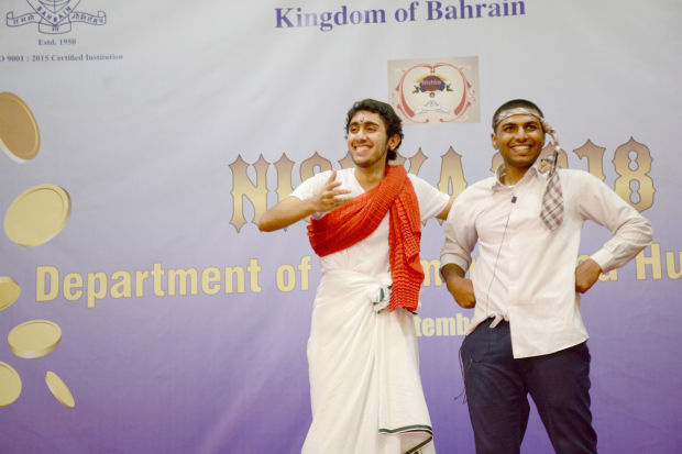 <p><em>Students performing at the festival</em></p>