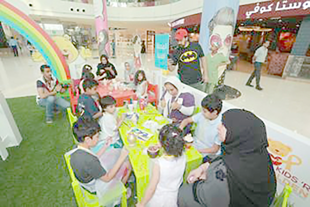 <p>A platform to spread awareness about childhood cancer began at Seef Mall yesterday. </p><div>The two-day initiative until tomorrow also aims to mobilise the community's support for survivors and their families and is spearheaded by the Future Youth Society's Smile Initiative.</div><div><br></div><div>The activity is part of a month-long nationwide campaign titled Kids 'R' Golden. </div><div><br></div><div>A series of other events are also lined up as part of the childhood cancer awareness month of September, targeting different segments of the Bahraini society and aimed at increasing awareness about the disease across all fronts.</div><div><br></div><div>A walkathon is also being organised on September 28 at the Prince Khalifa Bin Salman Park in Hidd with a number of schools, civil society organisations and companies expected to take part.</div><div><br></div><div>Contact 17725517 or 33919082 to join the movement and follow @smileofbahrain on Instagram.</div>