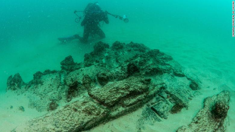 Portugal: Centuries-old shipwreck found near Lisbon