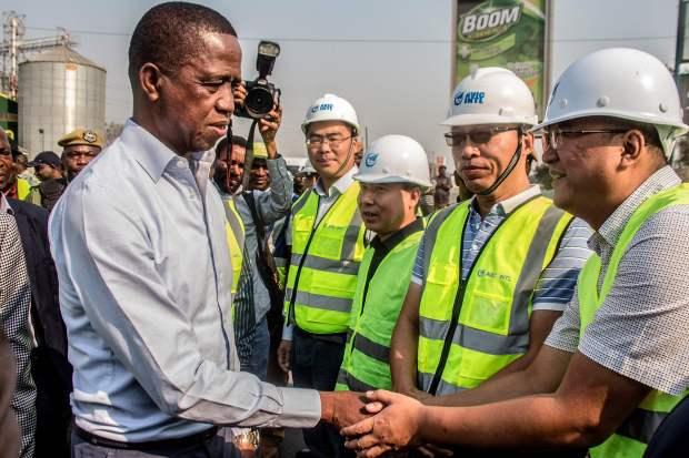 Anger mounts in Zambia over Beijing's presence