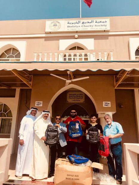 <p><em>At Budaiya Charity Society</em></p>