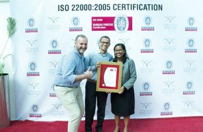 Banana Island Resort receives top food safety certification