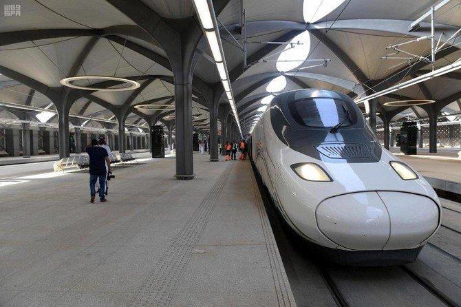 Saudi King to inaugurate Al-Haramain train today