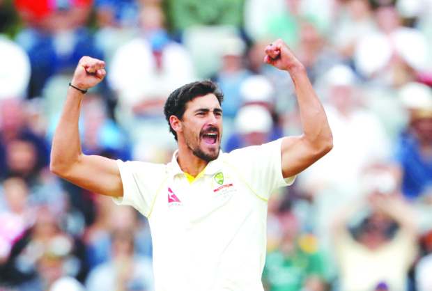 Mitchell Starc ready to take charge
