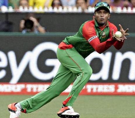 Injured Shakib to miss Bangladesh's Asia Cup final