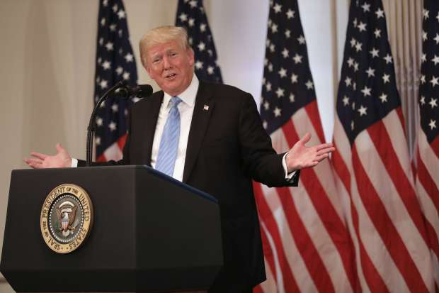 Trump two-state comments turn heads among Israelis, Palestinians