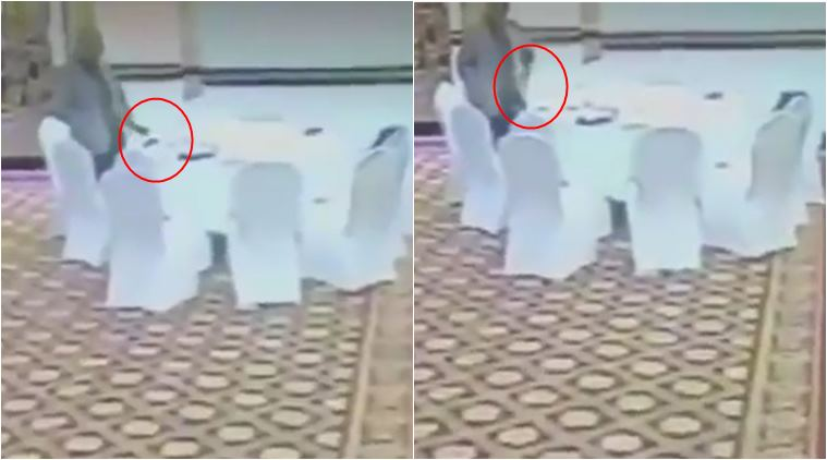 VIDEO: Pakistani official caught on camera stealing Kuwaiti delegate's wallet