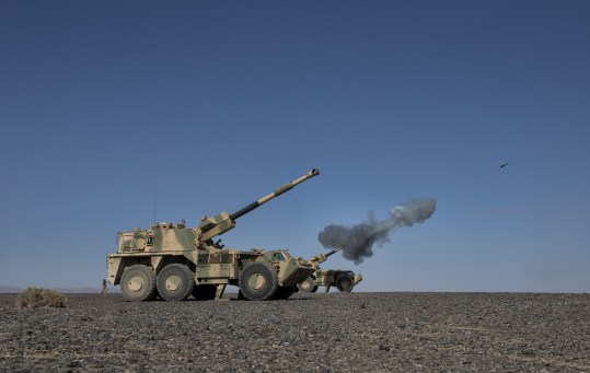 Massive military drill gets underway in Oman