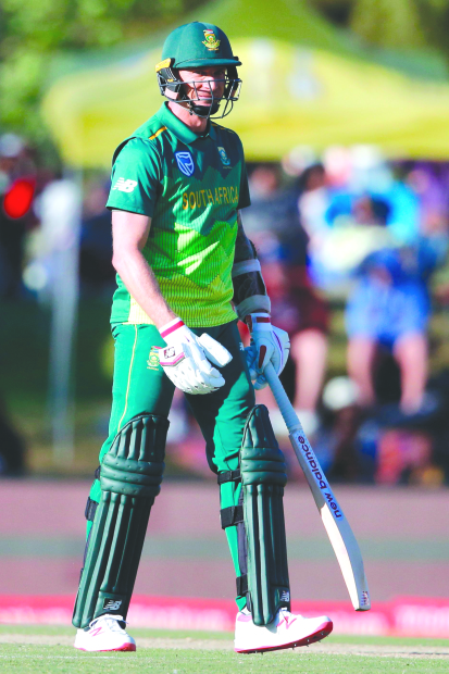 Steyn stars with both bat and ball