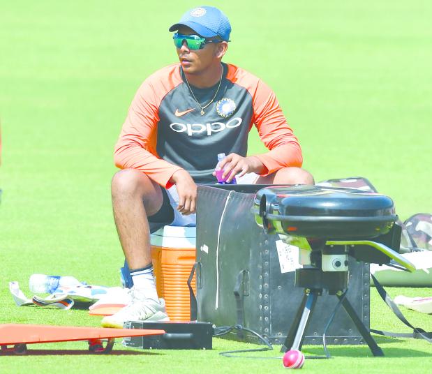 Teenager Shaw set for Indian Test debut