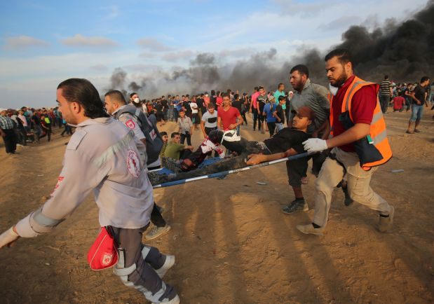 Two Palestinians killed in clashes with Israeli army