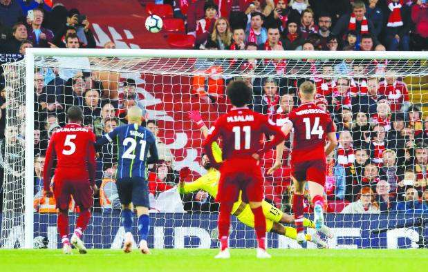 Liverpool hold 'misfiring' City