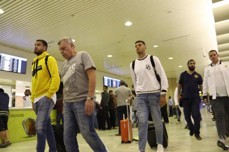 Argentinian football stars start arriving for Saudi tournament
