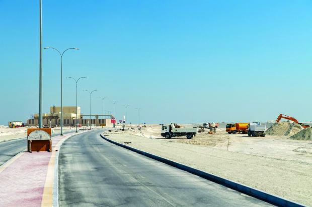 Al Qamra project work on track