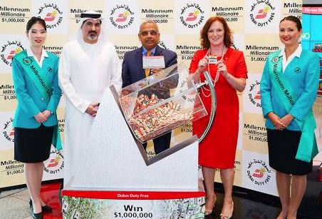 Indian, Pakistani win $1 million each in Dubai Duty Free draw