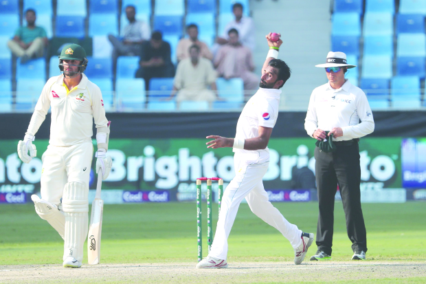 ASIF SPARKS AUSSIE COLLAPSE