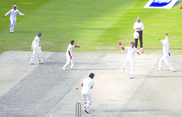 Pakistan on road to a huge victory